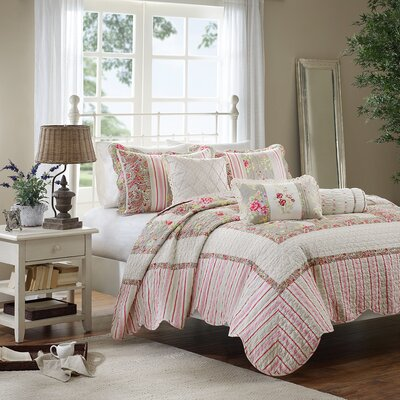 Jenna 6 Piece Coverlet Set