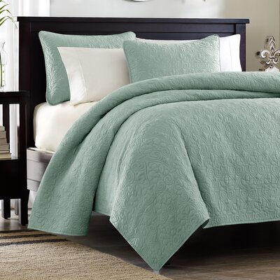 Madison Park Quebec 3 Piece Coverlet Set