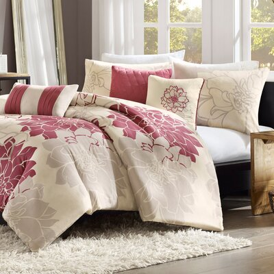 Madison Park Lola 6 Piece Duvet Set
