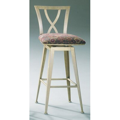 Johnston Casuals Crosse Contemporary Swivel Barstool