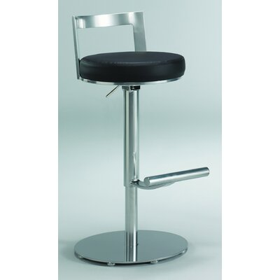 Johnston Casuals Cosmo Adjustable Swivel Bar Stool with Cushion