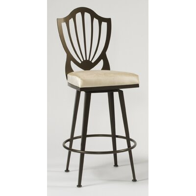 Williamsburg Contemporary Swivel Barstool
