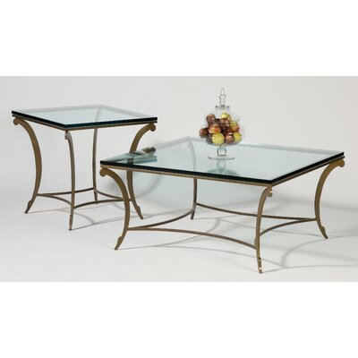 Johnston Casuals David Square Coffee Table Set