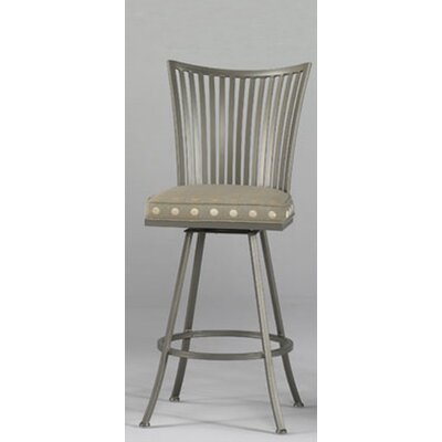 "Johnston Casuals Genesis 30"" Barstool with Arms"