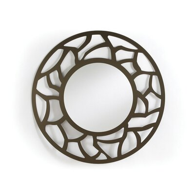 Johnston Casuals Crackle Round Mirror