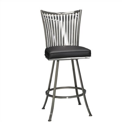 "Johnston Casuals Paralline 26"" Quick-Ship Swivel Counter Stool"