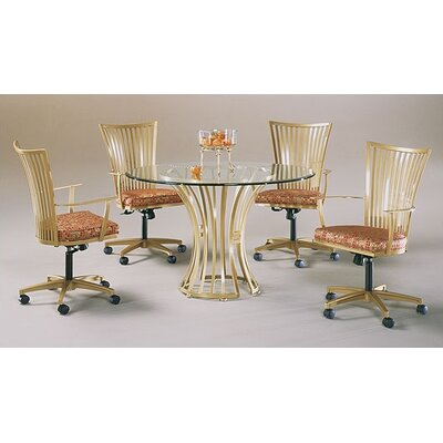 Johnston Casuals Paralline 5 Piece Dining Set