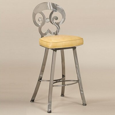 Woodlands Contemporary Swivel Barstool