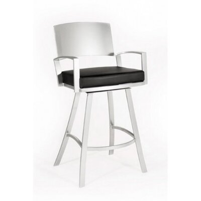 Johnston Casuals Mirage Contemporary Swivel Barstool
