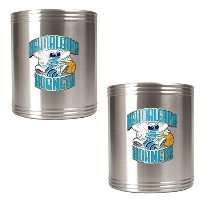 Great American Products NBA 2 Piecse Stainless Steel Can Holder Set - Primary Logo