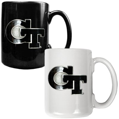 Great American Products NCAA Primary Logo Mug (Set of 2)