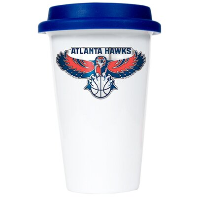 Great American Products NBA 12oz Double Wall Tumbler with Blue Lid