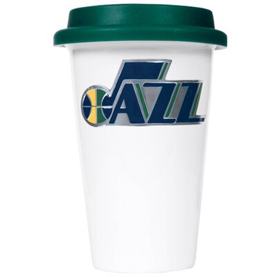 Great American Products NBA 12oz Double Wall Tumbler with Green Lid