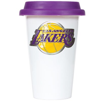 Great American Products NBA 12oz Double Wall Tumbler with Purple Lid