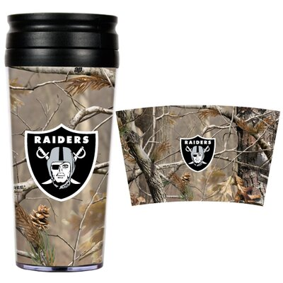Great American Products NFL Open Field Travel Tumbler