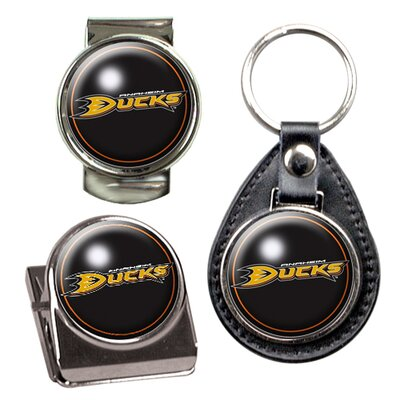Great American Products NHL 3 Piece Key Chain, Money Clip and Magnet Clip Set