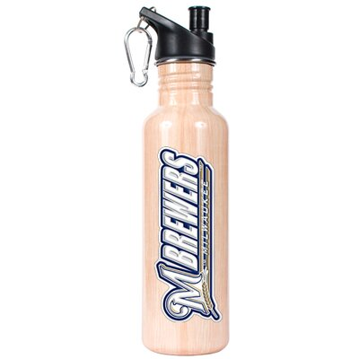 Great American Products MLB 26oz Stainless Steel Water Bottle with Pop-up Spout