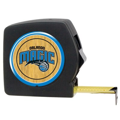 Great American Products NBA 25 Feet Tape Measure in Black