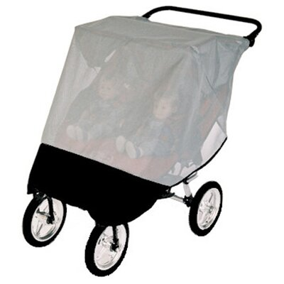 Sasha's Kiddie Products Baby Jogger City Series Double Stroller Sun, Wind and Insect Cover