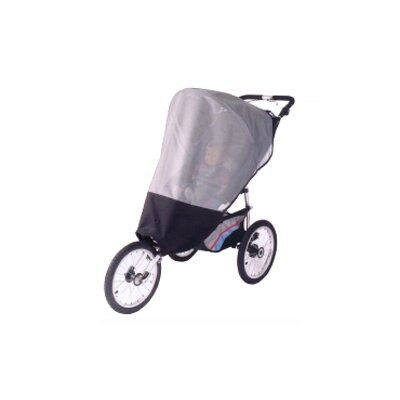 Sasha's Kiddie Products Dreamer Design Single Joggers Sun, Wind and Insect Stroller Cover