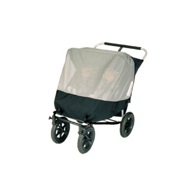 Sasha's Kiddie Products Mountain Buggy Urban Double Jogger Stroller Sun, Wind and Insect Cover