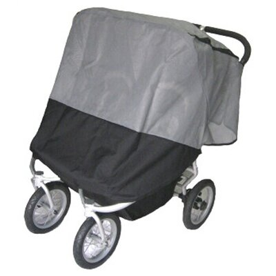 Sasha's Kiddie Products BumbleRide Indie Double Sun, Wind and insect Stroller Cover