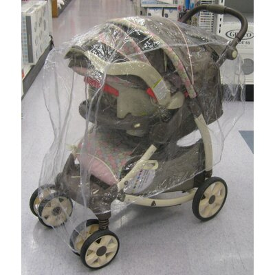 Sasha's Kiddie Products Single Stroller / Jogger Travel System Rain and Wind Cover