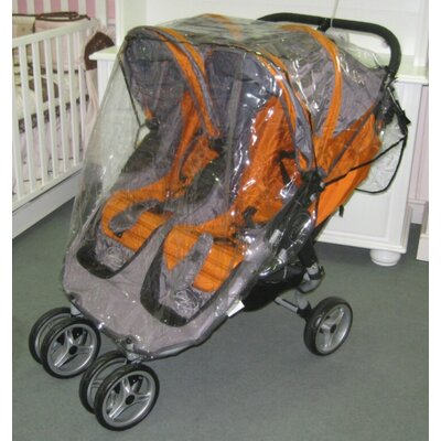 Sasha's Kiddie Products Baby Jogger City Mini Double Rain and Wind Cover