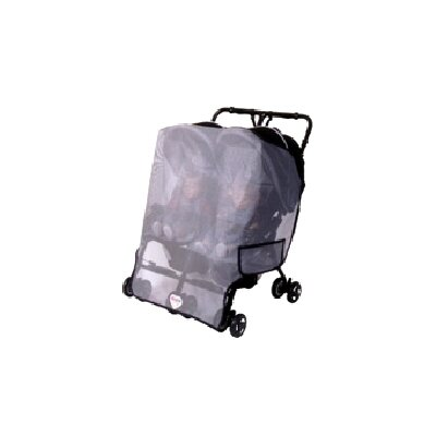 Sasha's Kiddie Products Twin Side by Side Stroller Model Sun, Wind and Insect Cover