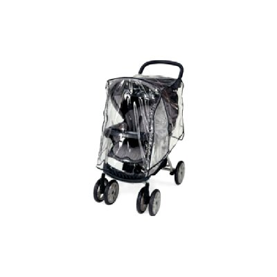 Sasha's Kiddie Products Kolcraft Contours Lite Single Stroller Rain and Wind Cover