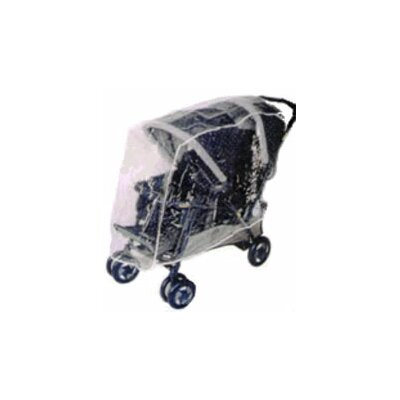 Sasha's Kiddie Products Combi Tandem Stroller Rain and Wind