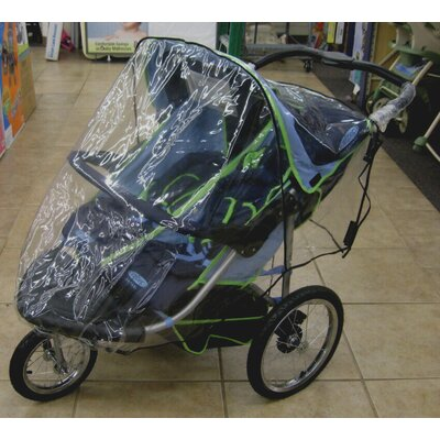 Sasha's Kiddie Products Schwinn Turismo 2011 Double Jogger Rain and Wind Cover