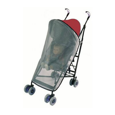 Sasha's Kiddie Products MiaModa Compagno Tandem Stroller Rain and Wind