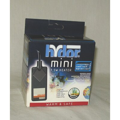 Hydro USA Mini Aquarium Heater in Black