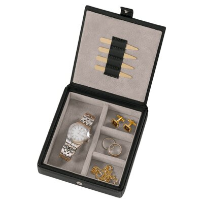 Leather Watch and Cufflink Box