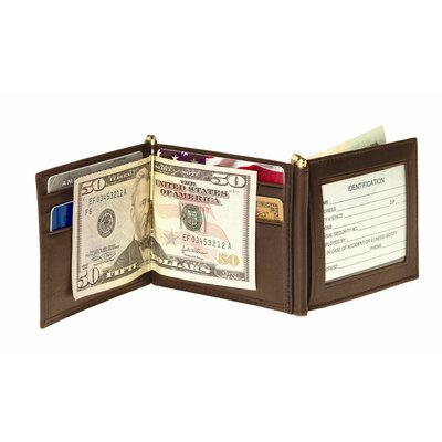 Royce Leather Men's Double Money Clip