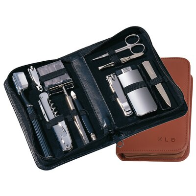Royce Leather Travel and Groom Kit