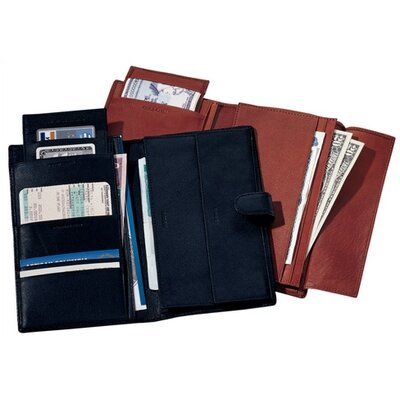 Royce Leather Deluxe Passport and Travel Case