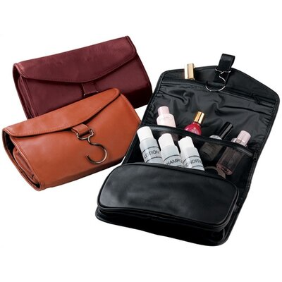 Royce Leather Art Hanging Toiletry Bag