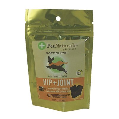 Pet Naturals of Vermont Hip N Joint Soft Chew for Small Dogs