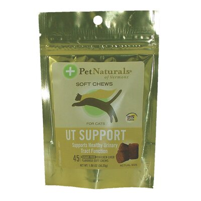 Pet Naturals of Vermont Urinary Tract Support Soft Chew for Cats (Pack of 45)