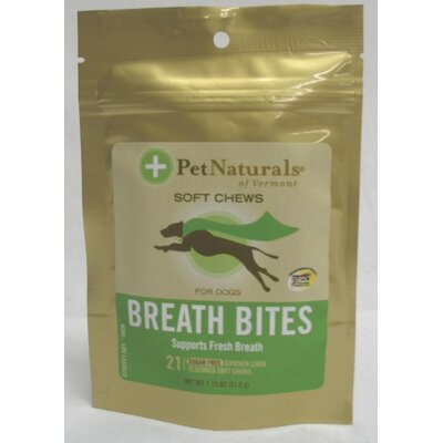 Pet Naturals of Vermont Breath Bite Dog Treat