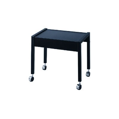 Lucasey Single Shelf Mobile TV Cart
