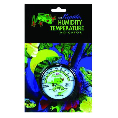 Zilla Humidity Gauge Temperature Dial