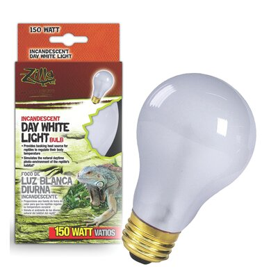Zilla Day White Light Incandescent Bulb for Reptiles