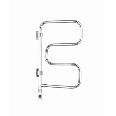 Elements 4 Bar Plug In Wall Mount Electric Towel Warmer