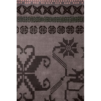 Nanimarquina Folk Purple Rug