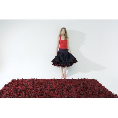 Nanimarquina Little Field Of Flowers Reds Rug