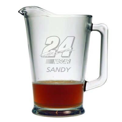 Nascar Individual 60 oz. Pitcher, Jeff Gordon with personalization