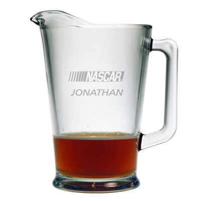 Individual 60 oz. Pitcher, Nascar Logo with personalization